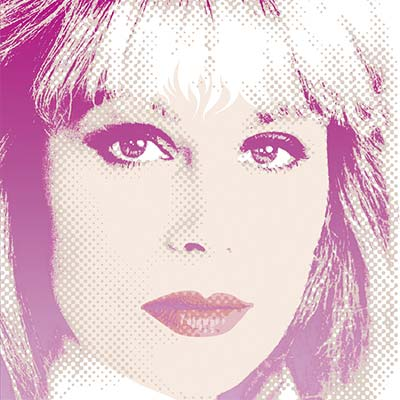 Joanna Lumley, model, actress, celebrity