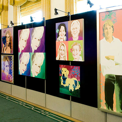 Privat Bank, pop art Art Show.